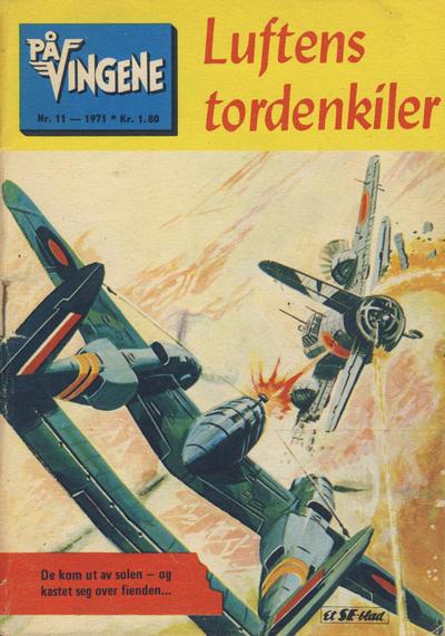 Cover for På Vingene (Serieforlaget / Se-Bladene / Stabenfeldt, 1963 series) #11/1971
