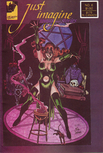 Cover for Just Imagine Comics and Stories (Just Imagine Graphix, 1982 series) #6
