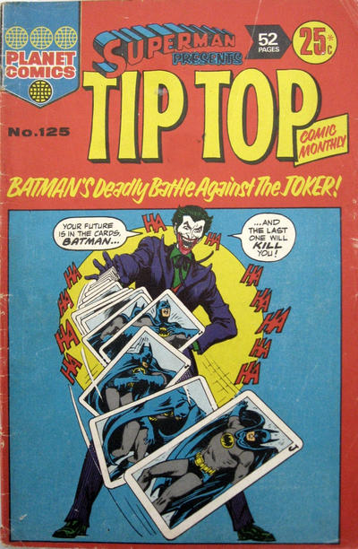 Cover for Superman Presents Tip Top Comic Monthly (K. G. Murray, 1965 series) #125