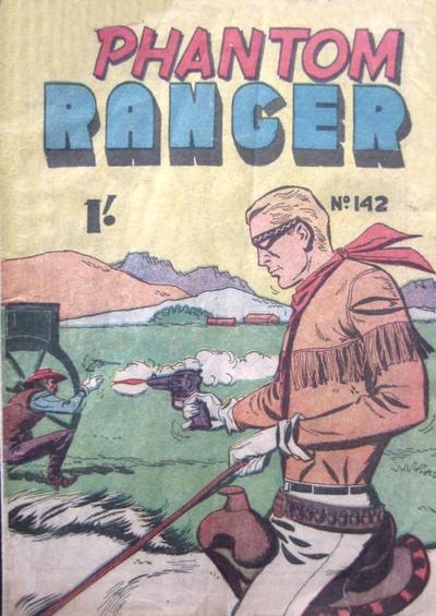 Cover for The Phantom Ranger (Frew Publications, 1948 series) #142