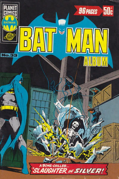 Cover for Batman Album (K. G. Murray, 1976 series) #33
