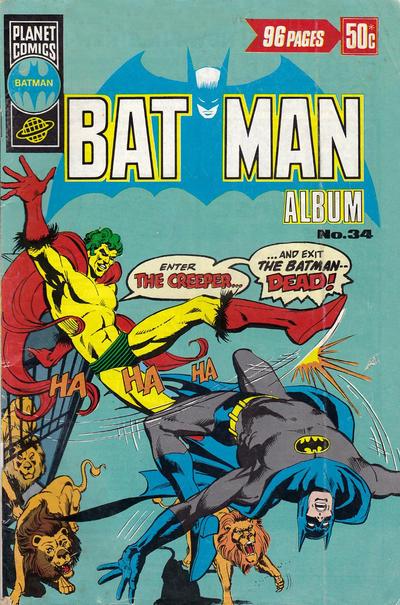 Cover for Batman Album (K. G. Murray, 1976 series) #34