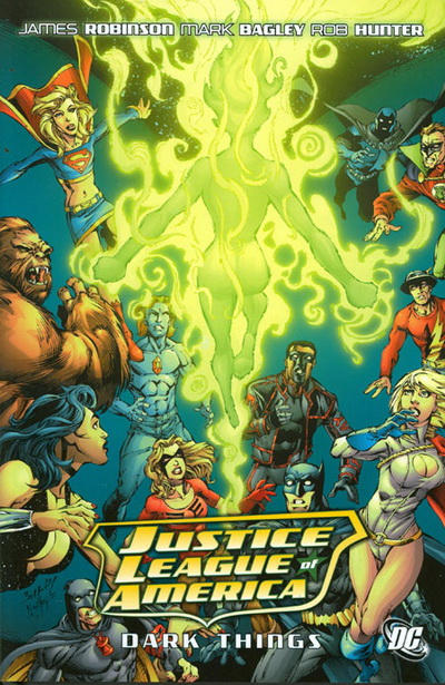Cover for Justice League of America (DC, 2007 series) #8 - Dark Things