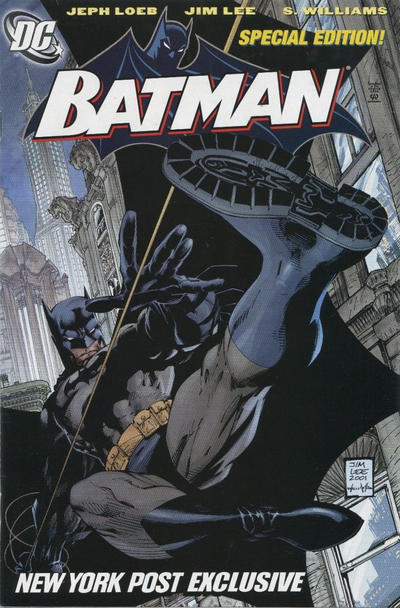 Cover for Batman (DC, 1940 series) #608 [Direct]