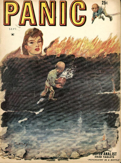 Cover for Panic (Panic Publications, 1958 series) #2