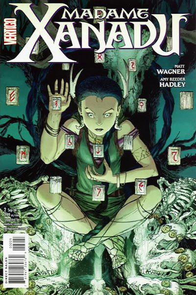 Cover for Madame Xanadu (DC, 2008 series) #2 [Michael William Kaluta Variant Cover]