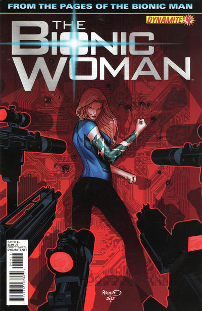 Cover for The Bionic Woman (Dynamite Entertainment, 2012 series) #4