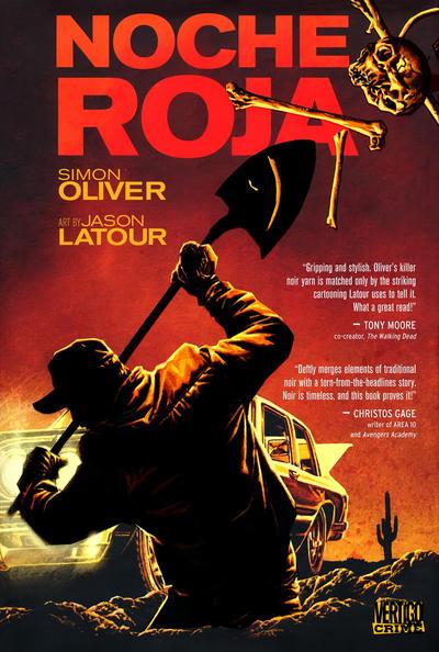 Cover for Noche Roja (DC, 2011 series)