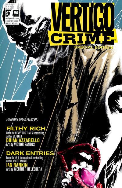 Cover for 100 Bullets/Crime Line Sampler Flip-Book (DC, 2009 series) #1