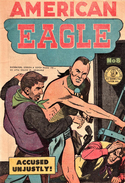 Cover for American Eagle (Atlas, 1950 ? series) #8