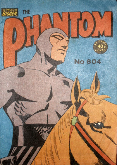 Cover for The Phantom (Frew Publications, 1948 series) #604