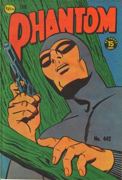 Cover for The Phantom (Frew Publications, 1948 series) #442
