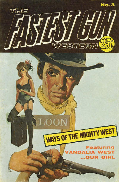 Cover for The Fastest Gun Western (K. G. Murray, 1972 series) #3