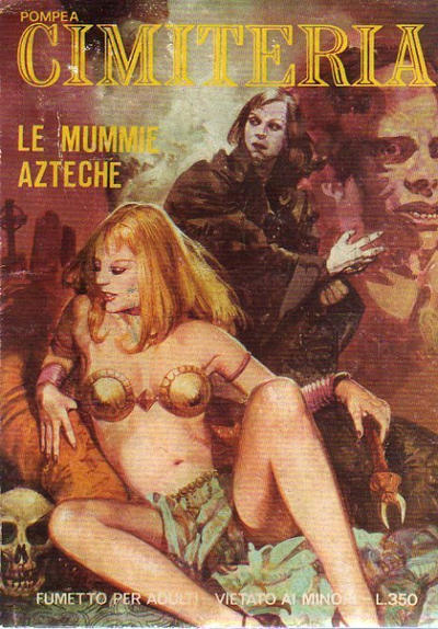 Cover for Cimiteria (Edifumetto, 1977 series) #43