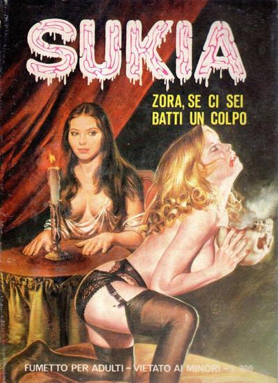 Cover for Sukia (Edifumetto, 1978 series) #3