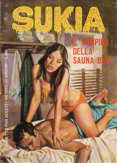 Cover for Sukia (Edifumetto, 1978 series) #5