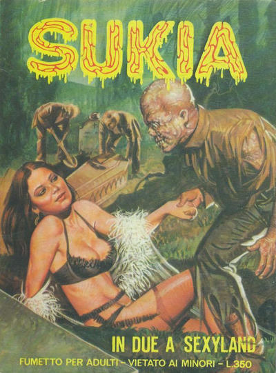 Cover for Sukia (Edifumetto, 1978 series) #21