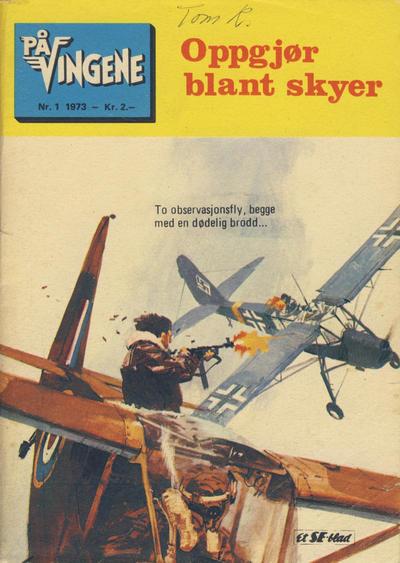 Cover for På Vingene (Serieforlaget / Se-Bladene / Stabenfeldt, 1963 series) #1/1973