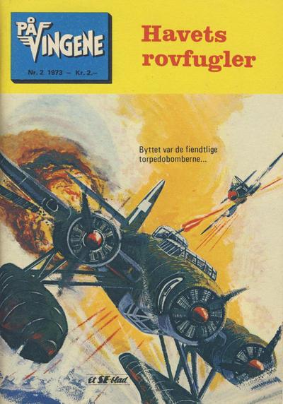 Cover for På Vingene (Serieforlaget / Se-Bladene / Stabenfeldt, 1963 series) #2/1973