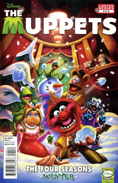 Cover for Muppets (Marvel, 2012 series) #4