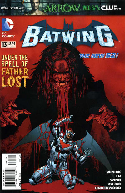 Cover for Batwing (DC, 2011 series) #13