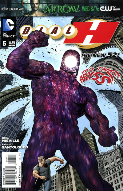 Cover for Dial H for Hero (DC, 2012 series) #5