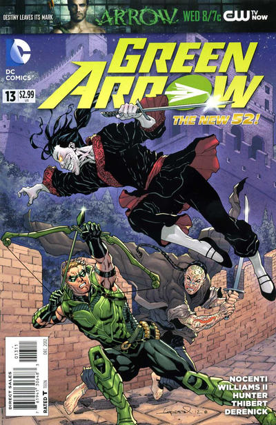 Cover for Green Arrow (DC, 2011 series) #13