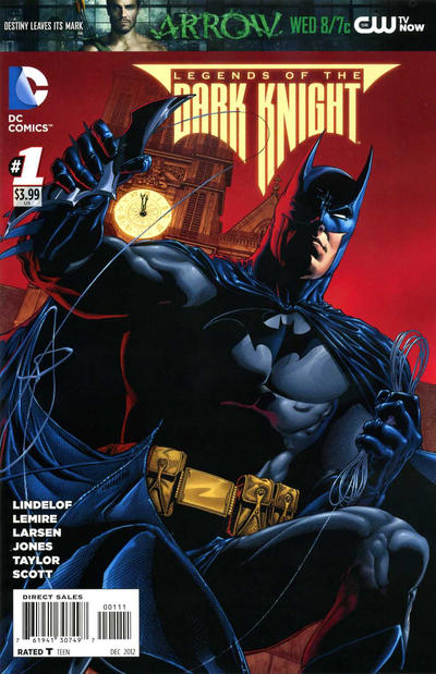 Cover for Legends of the Dark Knight (DC, 2012 series) #1 [Ethan Van Sciver Cover]