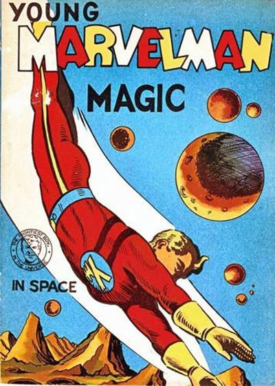 Cover for Young Marvelman Magic (L. Miller & Son, 1954 series) #[1]