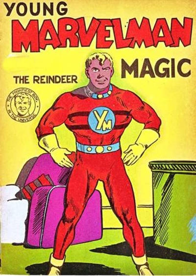 Cover for Young Marvelman Magic (L. Miller & Son, 1954 series) #[2]