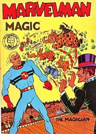 Cover for Young Marvelman Magic (L. Miller & Son, 1954 series) #[3]