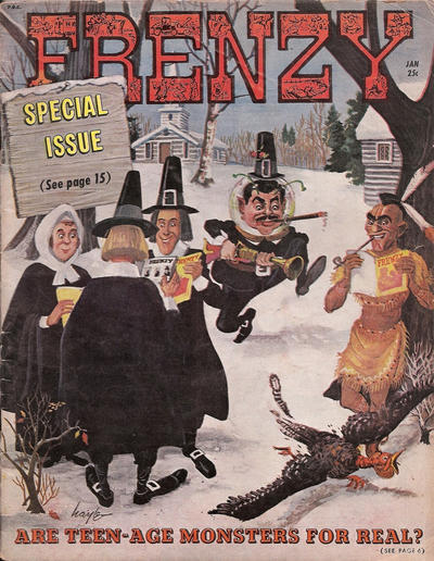Cover for Frenzy (Picture Magazine, 1958 series) #5