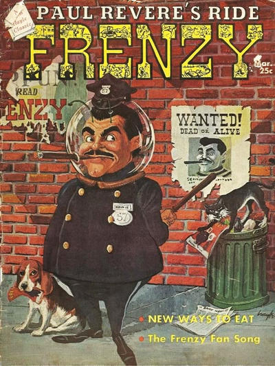 Cover for Frenzy (Picture Magazine, 1958 series) #6