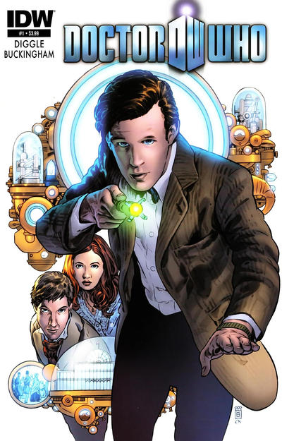 Cover for Doctor Who (IDW, 2012 series) #1