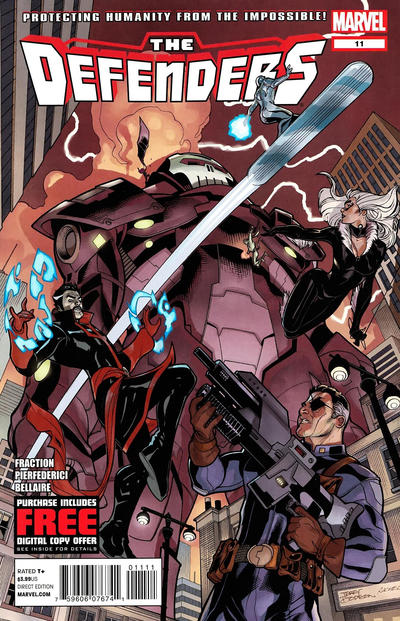 Cover for Defenders (Marvel, 2012 series) #11