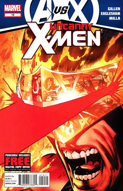Cover for Uncanny X-Men (Marvel, 2012 series) #19