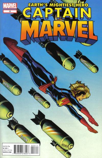 Cover for Captain Marvel (Marvel, 2012 series) #3