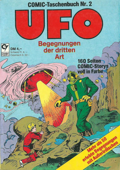 Cover for UFO (Condor, 1978 series) #2