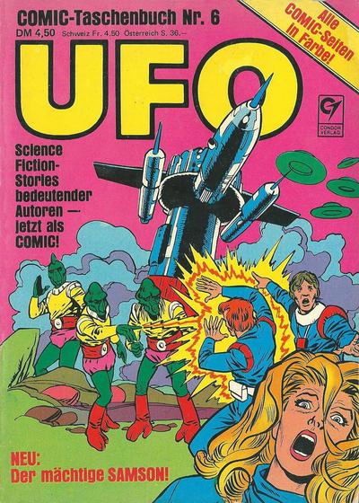 Cover for UFO (Condor, 1978 series) #6