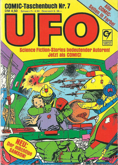 Cover for UFO (Condor, 1978 series) #7