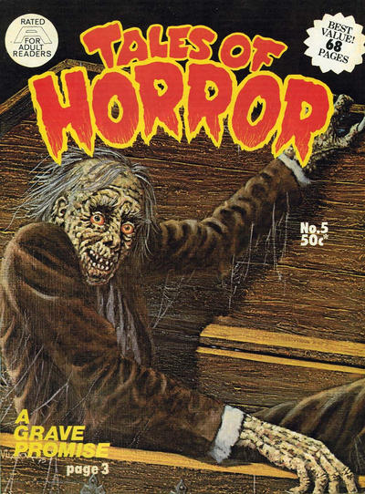 Cover for Tales of Horror (Gredown, 1975 series) #5