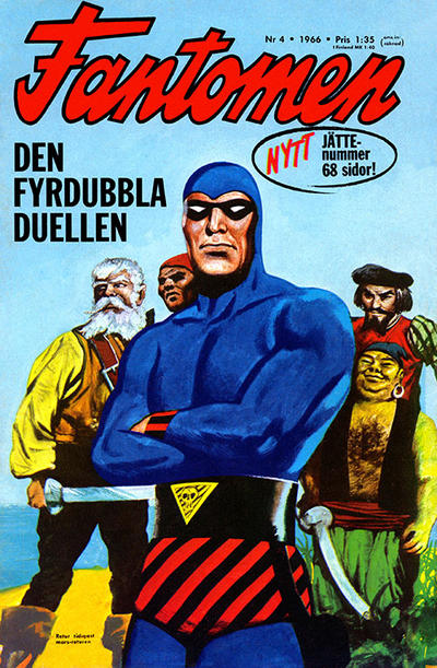 Cover for Fantomen (Semic, 1963 series) #4/1966