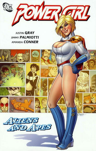 Cover for Power Girl: Aliens and Apes (DC, 2010 series)