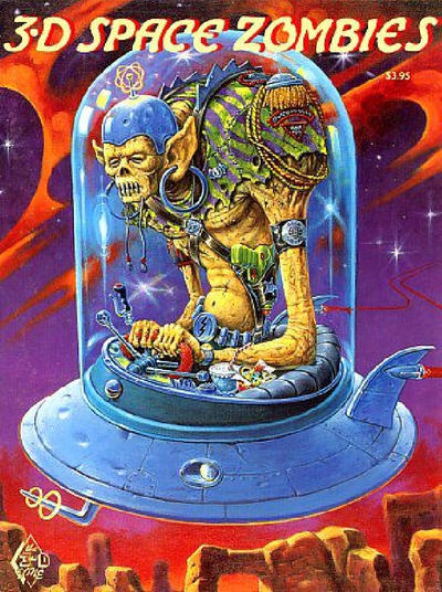 Cover for 3-D Space Zombies (3-D Zone, 1993 series)