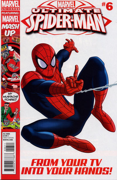 Cover for Marvel Universe Ultimate Spider-Man (Marvel, 2012 series) #6