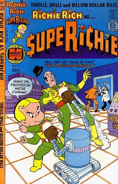 Cover for Superichie (Harvey, 1976 series) #15