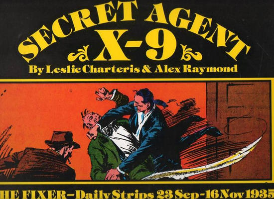 Cover for Secret Agent X-9:  The Fixer (Pacific Comics Club, 1980 ? series)