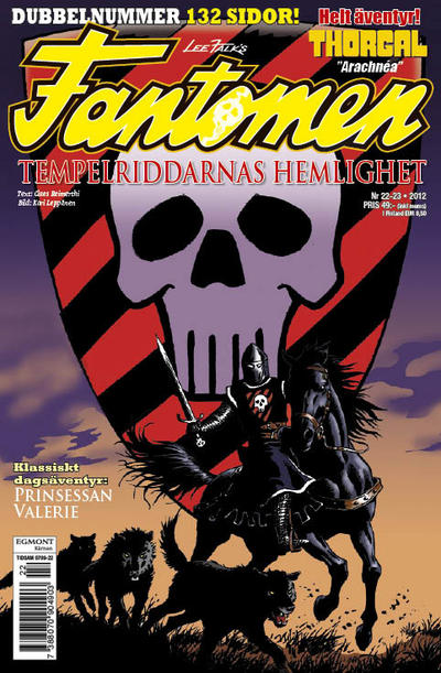 Cover for Fantomen (Egmont, 1997 series) #22-23/2012