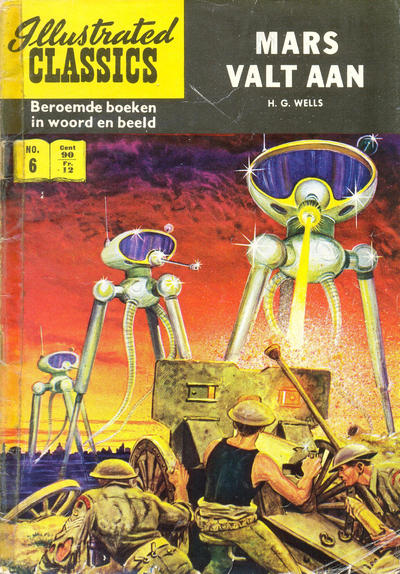 Cover for Illustrated Classics (Classics/Williams, 1956 series) #6 - Mars valt aan [HRN 158]