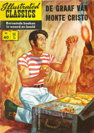 Cover for Illustrated Classics (Classics/Williams, 1956 series) #40 - De graaf van Monte Cristo [HRN 152]
